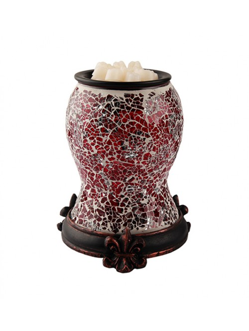 MOSAIC ELECTRIC WARMER RED
