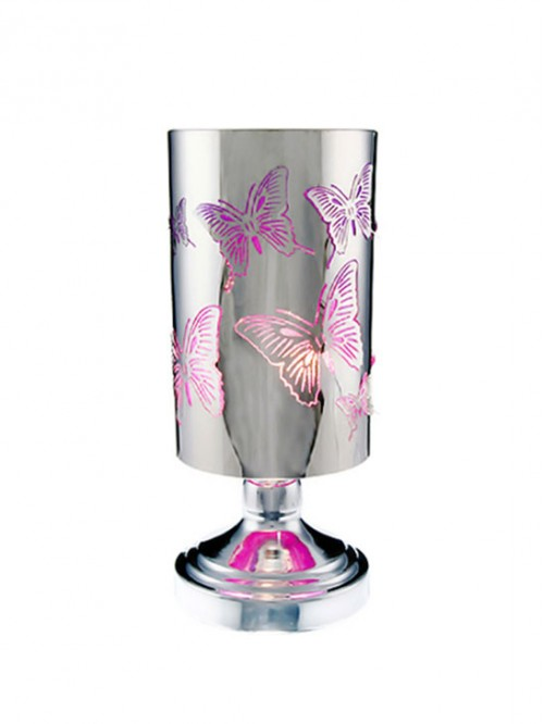 BUTTERFLY TOUCH LAMP - Purple